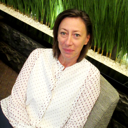 『Carine Gilson』クリエイティブ&マネージングディレクター カリーヌ・ジルソンさん