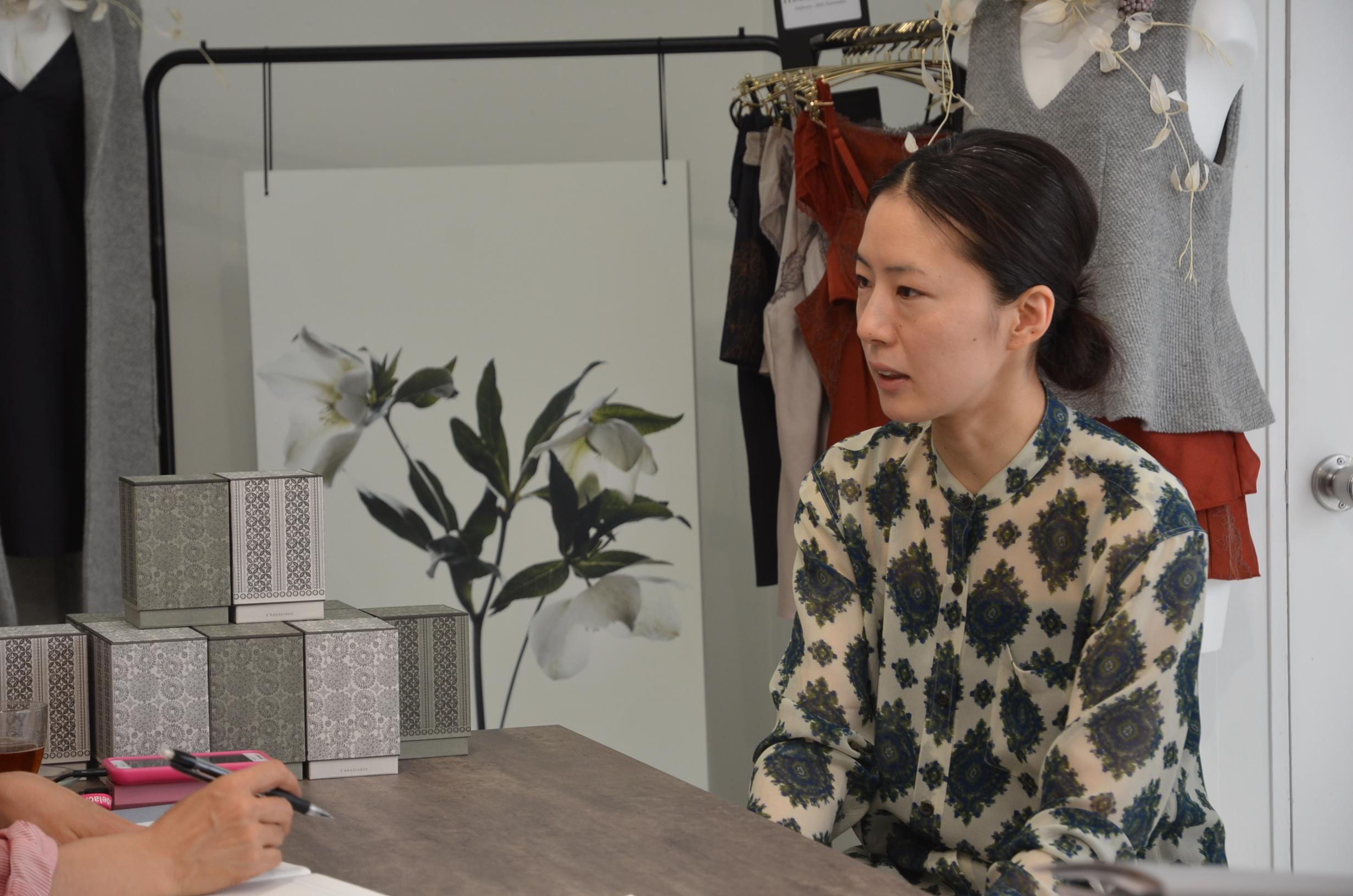 「ランジェリーク」クリエイティブディレクター有馬智子さん