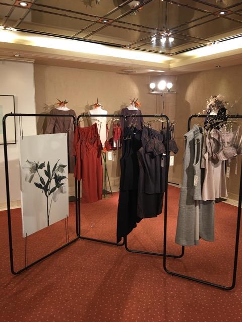 代官山ヒルサイドテラスで開催された2016年秋冬展示会